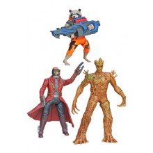 Guardians of the galaxy- figurer 13 cm Galaktiska krigare