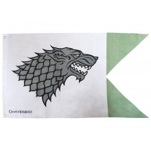 Game Of Thrones Flagga Stark
