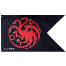Game Of Thrones Flagga Targaryen