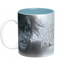 Game Of Thrones Mugg You Know Nothing