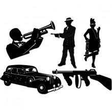 Gangster Siluett 20-tal 5-pack