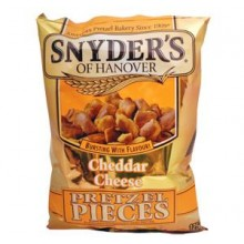 Snyders Pretzels Cheddar Cheese 125g