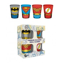 DC Comics Premium Shotglas 4-pack