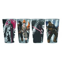 Star Wars Force Awakens Glas 4-pack