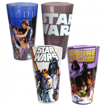 Star Wars Original Trilogy Glas 4-pack