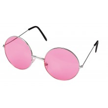 Runda Glasögon Rosa