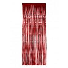 Glitterdraperi Röd