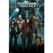 GUARDIANS OF THE GALAXY GROUP POSTER