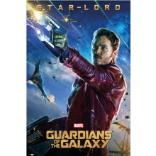 GUARDIANS OF THE GALAXY STAR LORD POSTER