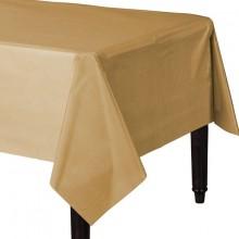 Bordsduk Guld Plast