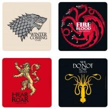 Game Of Thrones Drinkunderlägg 4-pack