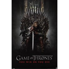 GAME OF THRONES (YOU WIN OR YOU DIE) POSTER