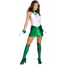 Green Lantern Klänning Maskeraddräkt