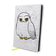 Harry Potter Anteckningsbok Fluffig Hedwig