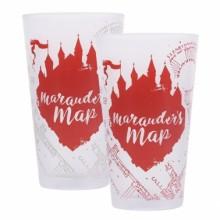 Harry Potter Färgskiftande Glas Marauders Map