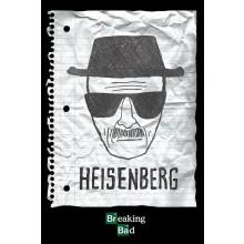 BREAKING BAD HEISENBERG WANTED POSTER