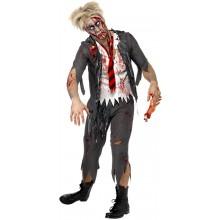 Zombie-skolpojke Vuxendräkt