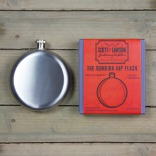Scott & Lawson The Dunkirk Hip Flask - Fickplunta