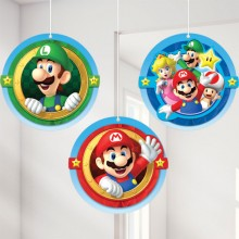 Dekoration Super Mario 3-pack