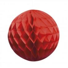 Honeycomb Röd 25 cm
