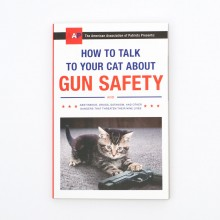 How to Talk to Your Cat About Gun Safety