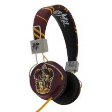 Hary Potter Hörlurar Gryffindor Emblem
