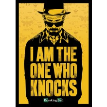 BREAKING BAD (I AM THE ONE WHO KNOCKS) POSTER