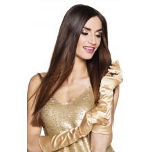Långa Handskar Guld