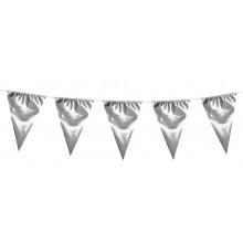 Girlang Stor Silver Vimpel 10 m