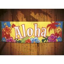 Banderoll Aloha 74x220 cm