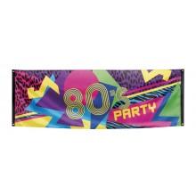 Banner 80-tal 74x220 cm