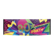 Banderoll 80-tal 74x220 cm