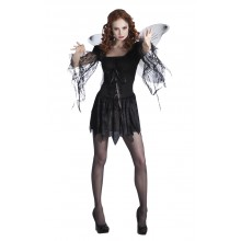 Halloweendräkt Svart Ängel