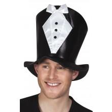 Hög Hatt Brudgum