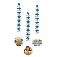 Spiral Dekoration Oktoberfest 3-pack