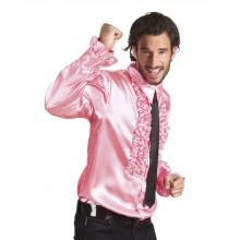 Discoskjorta Rosa 70-tal