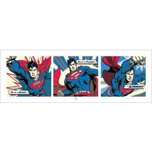 SUPERMAN (POP ART) 95X33 POSTER