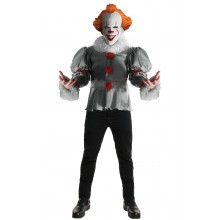 Pennywise It Maskeraddräkt Deluxe
