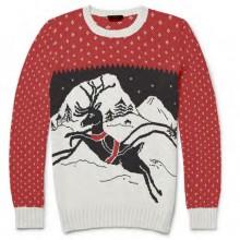 Jultröja Barn Santas Reindeer
