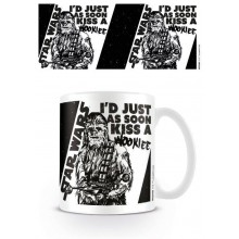 Star Wars Mugg Kiss a Wookie