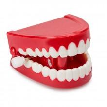 Klapprande tänder retro