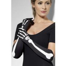 Långa Handskar Skelett