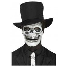 Latexskumprotes Skelett Svart Vit