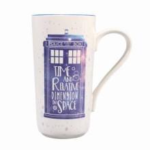 Dr Who Lattemugg Galaxy