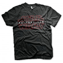 Star Wars The Last Jedi Logo Svart T-shirt