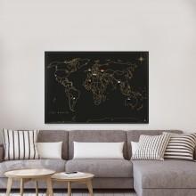 Magnetisk Världskarta
