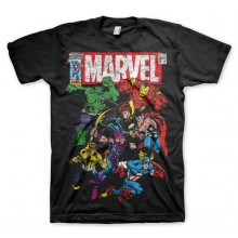 Marvel Comics - Team-Up T-Shirt (Svart)