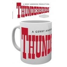 Thunderbirds Mugg  Classic Logo