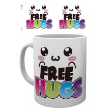 Kawaii Mugg Free Hugs