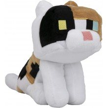 Minecraft Happy Explorer Calico Cat Mjukisdjur